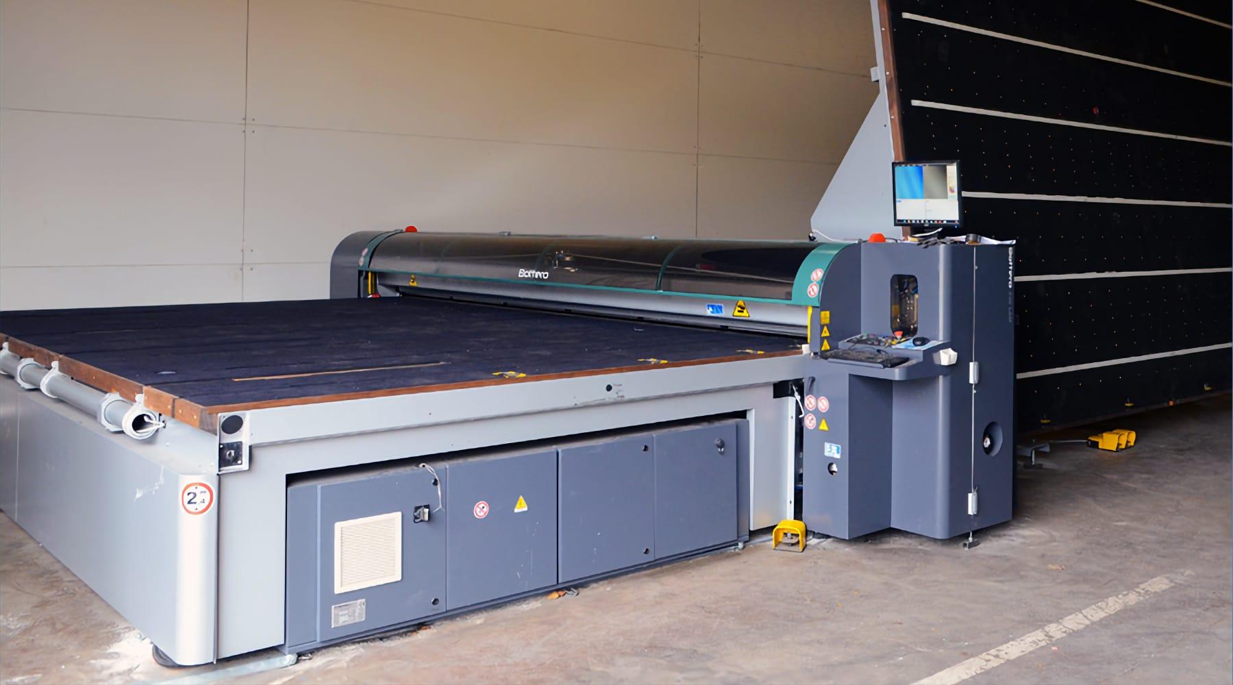 Table de coupe Bottero 6000×3200