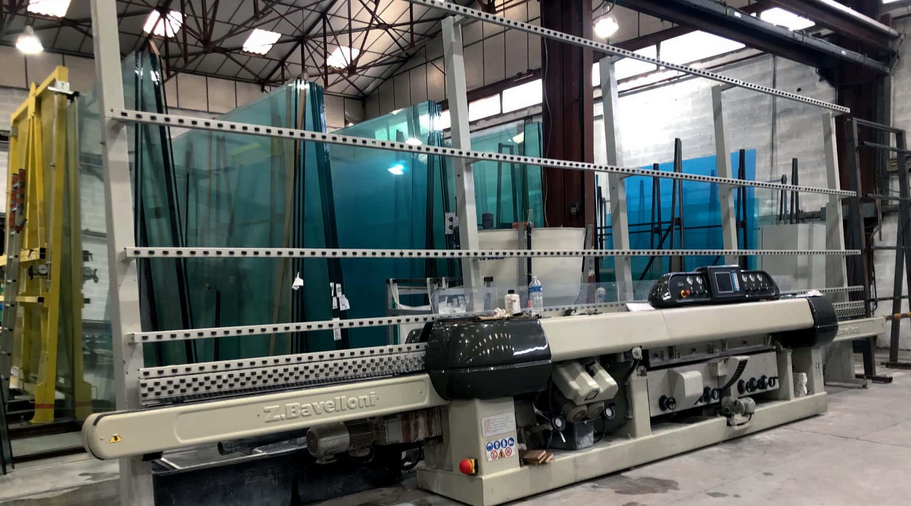 Machine à polissage de verre Bavelloni
