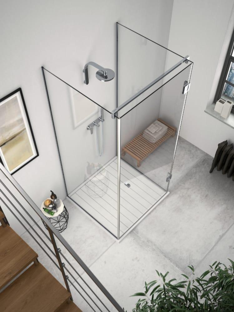 Pare douche en verre